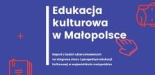 Edukacja kulturowa w Małopolsce - okładka Łukasz Podolak