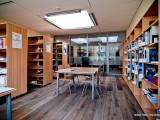 wnętrza nowej biblioteki z Chrzanowa